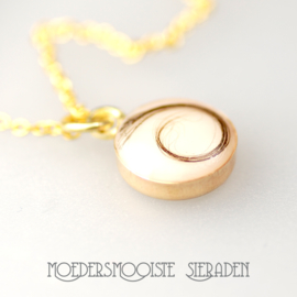 Collier Moedermelk Goud Puur