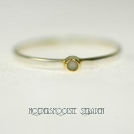 Ring Jena (zilver en goud)