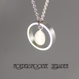 Collier Moedermelk Druppel Design