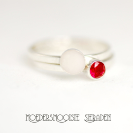Ring Sublime Zilver