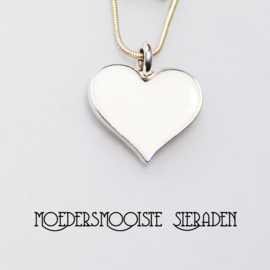 Collier Moedermelk Pendant Hart