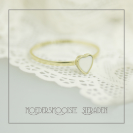 Ring Strong Heart Goud