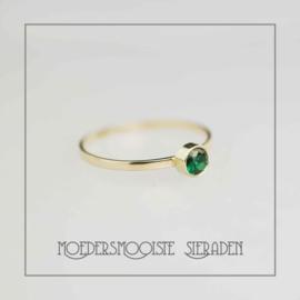 Ring goud Smaragd