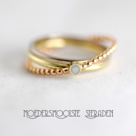 Ring Marlou Triple Colour Gold