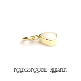 Losse gouden melk-druppel 7 mm