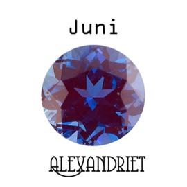 Geboortesteen Juni  Alexandriet