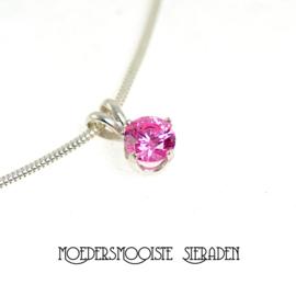 Sieraden roze Toermalijn (oktober)