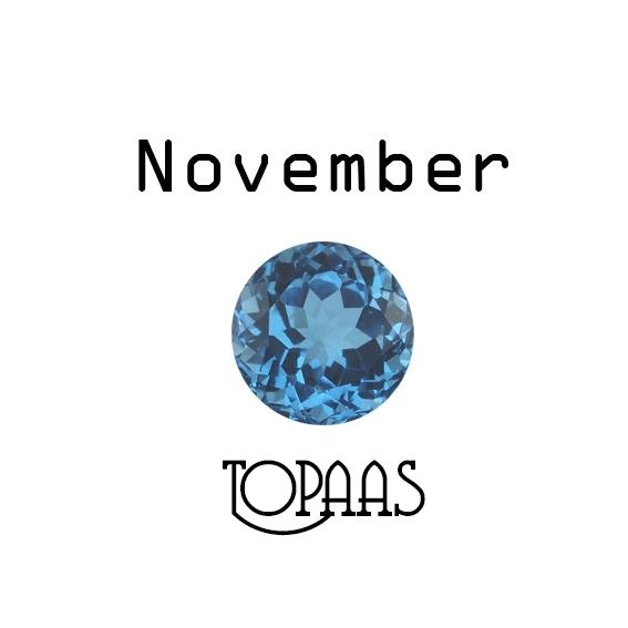Geboortesteen November Topaas