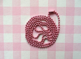 Ball chain roze