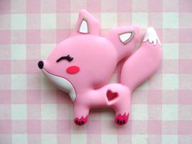 Teether vosje roze