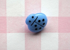 Knoop lieveheersbeestje blauw