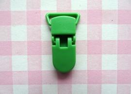 Speenclip  - bretelclip  kunststof groen