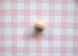 Houten kraal 18 mm