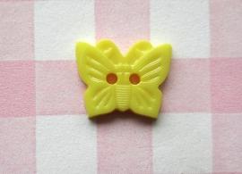 Knoop vlinder geel