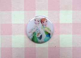 Epoxy sticker Elsa, Anna en Olaf