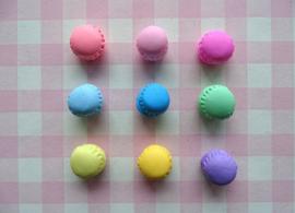 Flatback mini macaron