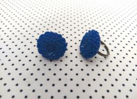Ring dahlia koningsblauw