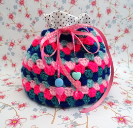 Mini Granny Project Bag