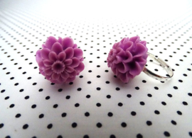 Ring chrysant lila