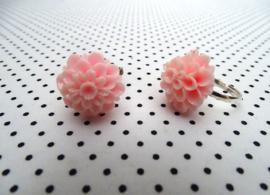 Ring chrysant roze