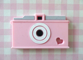Teether camera roze