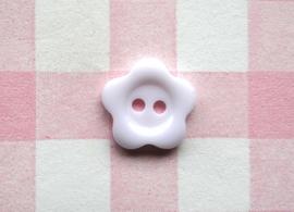 Knoop bloem wit