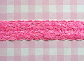Elastisch kant roze 30 mm