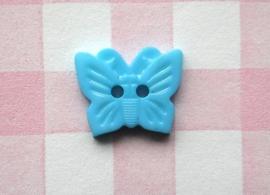 Knoop vlinder azuurblauw
