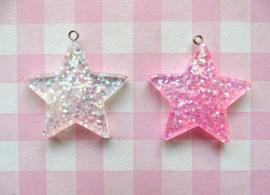Bedel ster glitter