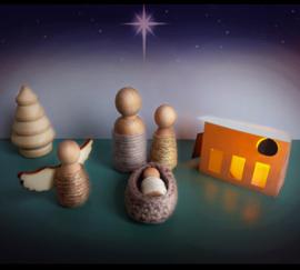 Kerststalletje - pakket of kant en klaar