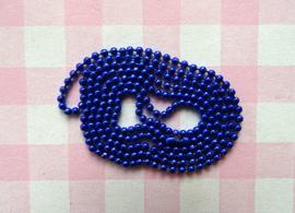 Ball chain koningsblauw