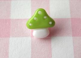 Knoop paddestoel groen
