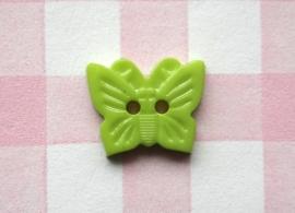 Knoop vlinder groen