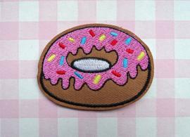 Strijkapplicatie donut