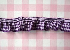 Elastisch roezelband paars