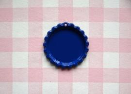 Bottle cap koningsblauw