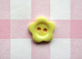 Knoop bloem geel