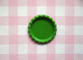 Bottle cap zonder gaatje groen