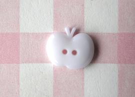 Knoop appel wit