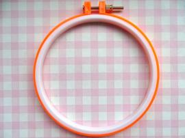 Borduurring kunststof oranje