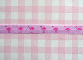 Elastiek flamingo's roze