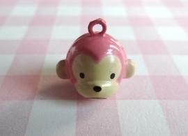 Belletje roze aapje
