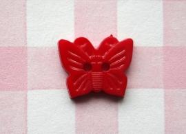 Knoop vlinder rood