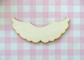Houten vleugels groot