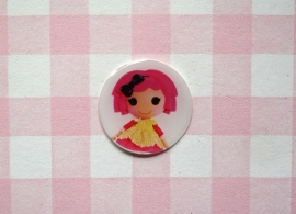 Epoxy sticker Lalaloopsy roze