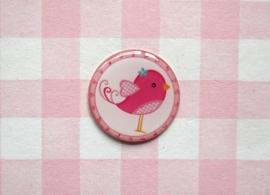 Epoxy sticker Vogeltje