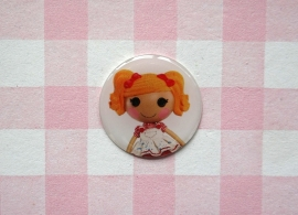 Epoxy sticker Lalaloopsy geel