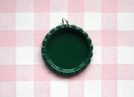 Bottle cap donkergroen