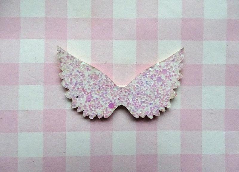 Glitter vleugels