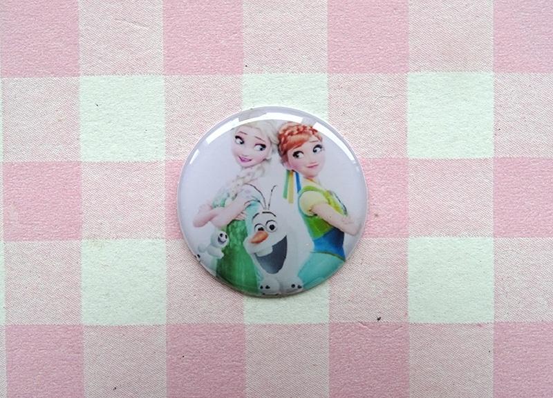 Epoxy sticker Elsa, Anna en Olaf